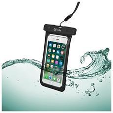 Custodia impermeabile SplashBag per smartphone da 6.2'' colore Nero
