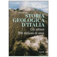 Storia geologica d'Italia. Gli ultimi 200 milioni di anni