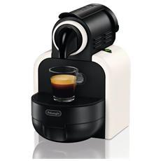 DE LONGHI - EN97W Essenza Macchina da Caffè Nespresso Capacità Serbatoio 0.9 Litri Potenza 1260 Watt Colore Nero...