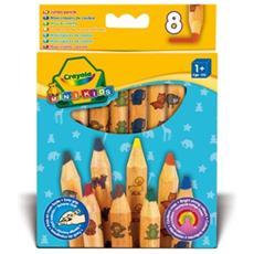 Colora Mini Kids 8 Maxi Matite Colorate 3678
