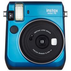Instax Mini 70 Island Blu Fotocamera a Sviluppo Istantaneo