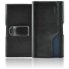 Belt Slim Custodia a Fondina Universale Taglia XL 153x81x10 mm Colore Nero