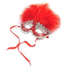 maschera creatore 'carnaval de venise' rosso - [ n6173]