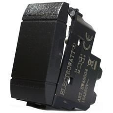 1 Pulsante Invertitore Electrowatt A Leva Nero 16 A Compatibile Btcino Living