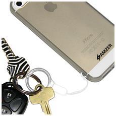 Cinghia per Fotocamera MP3 Player o Cellulare in Nailon Bianco AMZ97410
