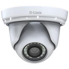 D-LINK - DCS-4802E Videocamera Mini Dome PoE Full HD per esterni