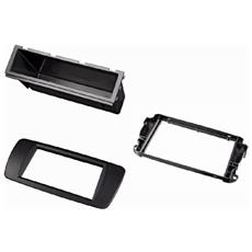 Car Radio Support, double DIN, for Seat Ibiza from 2008, Abazache black