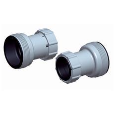 Set 2 adattatori per pompa diametro 32-38 mm