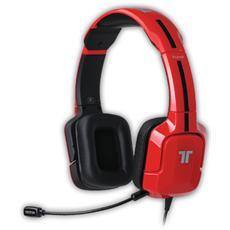 Cuffie gaming con Microfono Kunai Connessione Cavo Rossa 3 m