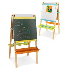 Legno Artist Easel with Paper Roll 63x62x120 62026