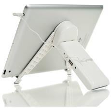 Supporto Da Tavolo IPad Tablet Kindle Universale Audio Cassa Speaker