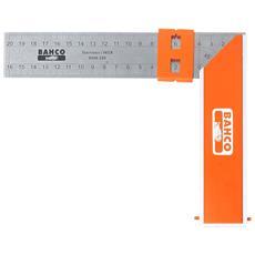 Squadra Carpentiere 300 Mm Arancione 9048-300