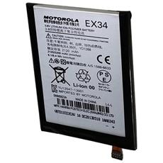 Batteria Ex34 2120mah 81wh Per Motorola X
