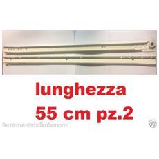 Guide Scorrevoli Per Cassetti Portata 45kg Estrazione Totale Tutte Le Lunghezze