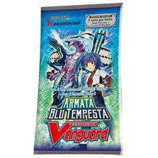 Vanguard Armata Blu Tempesta Busta Carte - Da Gioco / collezione