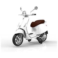 Vespa Elettrica Ride On 12 Volt Colore Bianco
