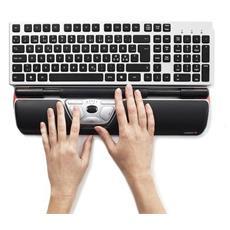 RollerMouse Red, USB, Ufficio, Pressed buttons, Rotella, Laser, Computer portatile
