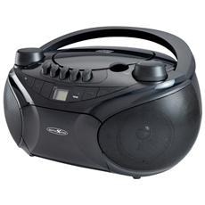 RCR4655, Analogico, FM, Lettore, CD, CD-R, CD-RW, DVD+R, CA / Batteria, LCD