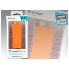 Power Bank 4000 mAh Arancione