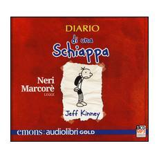 Diario di una schiappa letto da Neri Marcorè. Audiolibro. CD Audio formato MP3