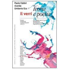 Il Verri. Vol. 61: «Teoria e poesia».