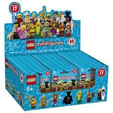 6175012 Minifigures - Espositore da banco LEGO Minifigures 2017 (contiene 60 bustine art. 71018)