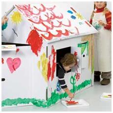 modello in cartone casa xxl joypac 120x80x110cm
