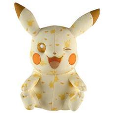 Figura Peluche Pupazzo Pokemon Plush Figure 20th Anniversary Special Pikachu Wink 25 Cm
