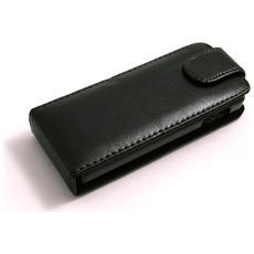 Custodia Flip In Pelle Ecologica Per Sony Ericsson J105
