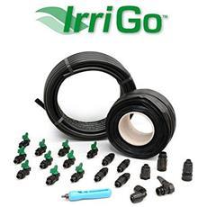 Kit Irrigazione Goccia Orto Agricultural Kit Irritec Giardino 150 Mq Filtro Tubo