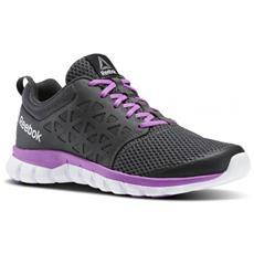 Sublite Xt Cushion  Coal/violet/white/pe Scarpa Running Donna Us 6