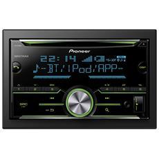 Sintolettore CD FH-X730BT Potenza 4x50W Supporto MP3 / WMA / AAC AUX / USB Bluetooth Nero RICONDIZIONATO