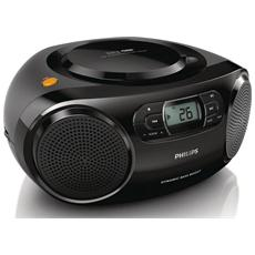 Radio portatile AZ320/12 Lettore CD / MP3 Ingresso USB