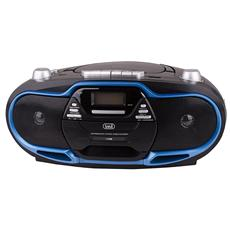Radio Registratore Cd Cassetta Cmp 574 Usb Blu