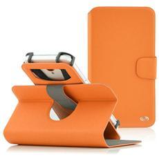 """Denim Window Custodia Universale per Dispositivi fino a 5"""" Colore Arancio"""