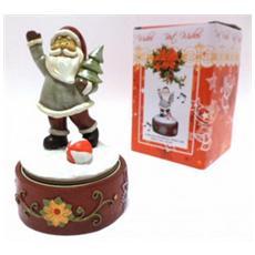Carillon Babbo Natale da 16 x 10 cm