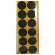 Feltrini Adesivi Forma Rotonda Marrone Busta Da 2pz (40mm)