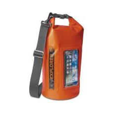 Borsa Impermeabile Explorer 5L con Tasca per Smartphone da 6.2' Colore Arancione