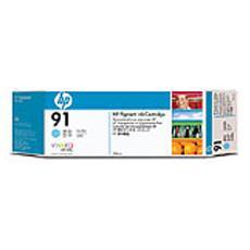 Cartuccia ink HP 91 ciano chiaro, da 775 ml con inchiostro HP Vivera