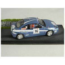 Mwfc01rp Diorama Fiat Coupe' Rally Polizia Modellino