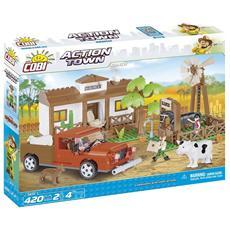 Il Ranch Action Town Gioco Di Costruzioni 1870 420 Pz *02606