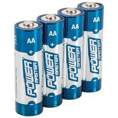 992118 Batterie Alcaline Aa Super Lr6 4 P. zi 4 P. zi