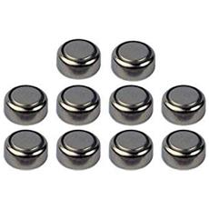 Set 10 Batteria Batterie Pile A Bottone Ag8 391a Lr1120 Sr55 391a Lr55 Sg8 Sr1120 Alkaline 1.55v Orologi Calcolatrici Giocattoli