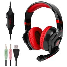 Vots Anti-rumore Colorato Chiaro Stereo 3pcs 3.5mm Usb Plug Gaming Headphones Headset