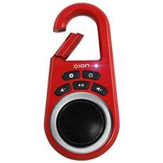 Audio Clipster, 1.0, 1,5W, Senza fili, Bluetooth, A2DP, Rosa