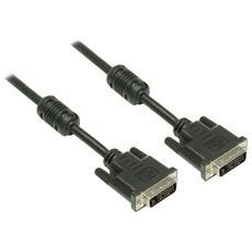 DVI-D / DVI-D, 15 m, DVI-D, DVI-D, Maschio, Maschio, Nero, 2560 x 1600 Pixels