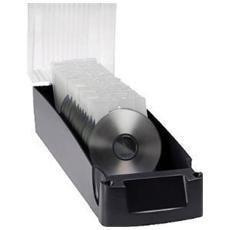 pz. 1 CD Whales Silver / traspar. Cap 100 CD / DVD Exponent 17003