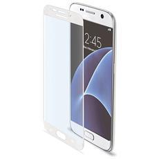 Pellicola Protettiva Full Curve per Galaxy S7 Colore Bianco