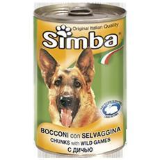 Simba Cane, Bocconi Selvaggina Gr 1230