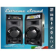 Coppia Casse Amplificate Attive 1500wattdi Picco - Rms 240 Watt - Potenti In Ktv Usb Bluetooth Karaoke Dj